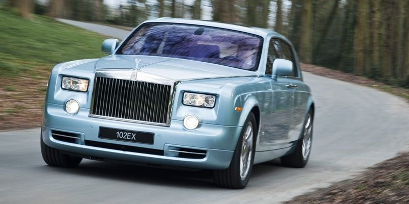 Rolls Royce Phantom 102EX Electric Car