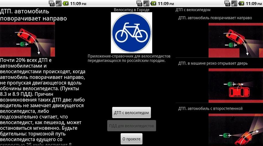 Велосипед в городе