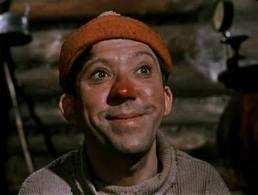 Красный нос Балбеса говорит все за себя