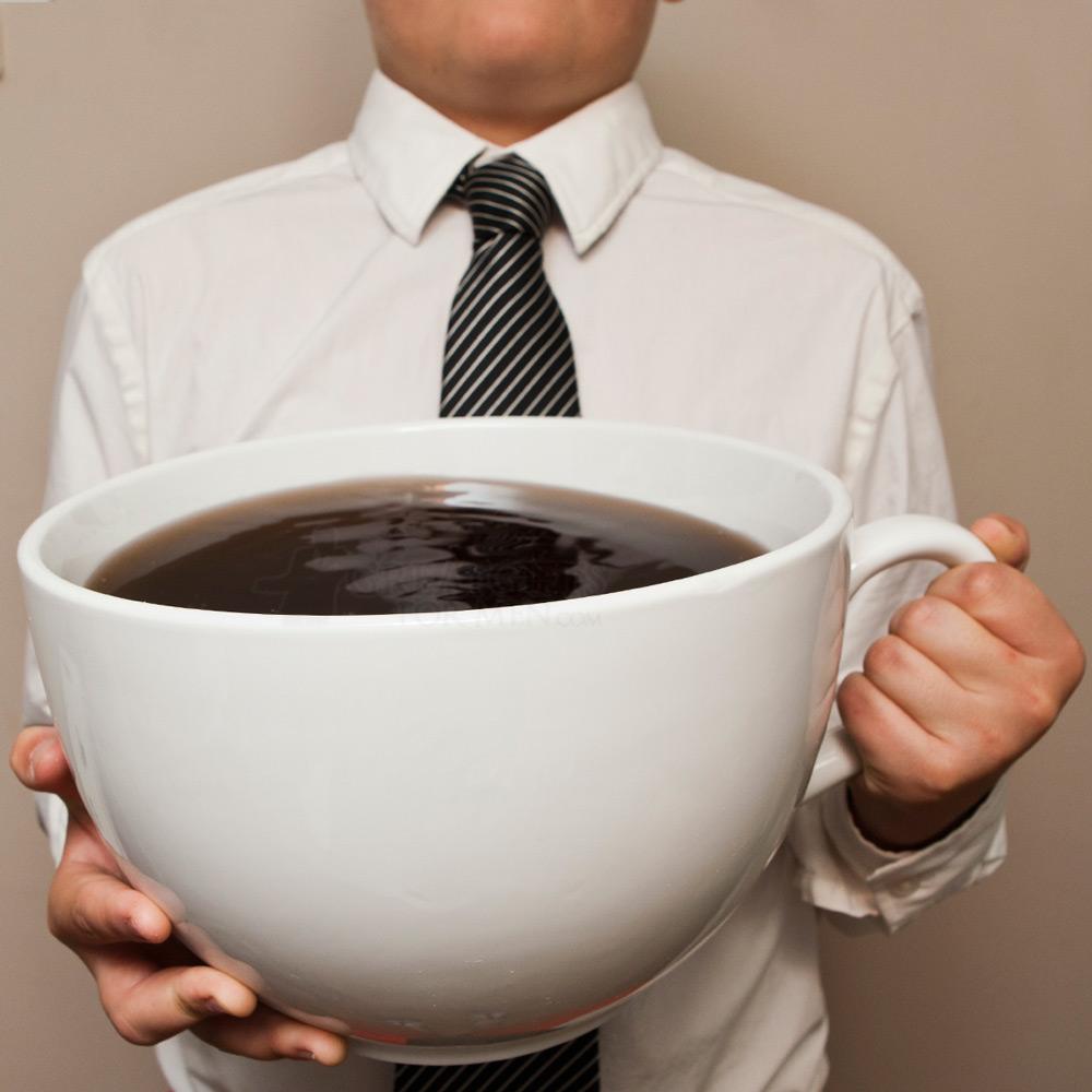 А ты уже выпил свою дозу кофеина?