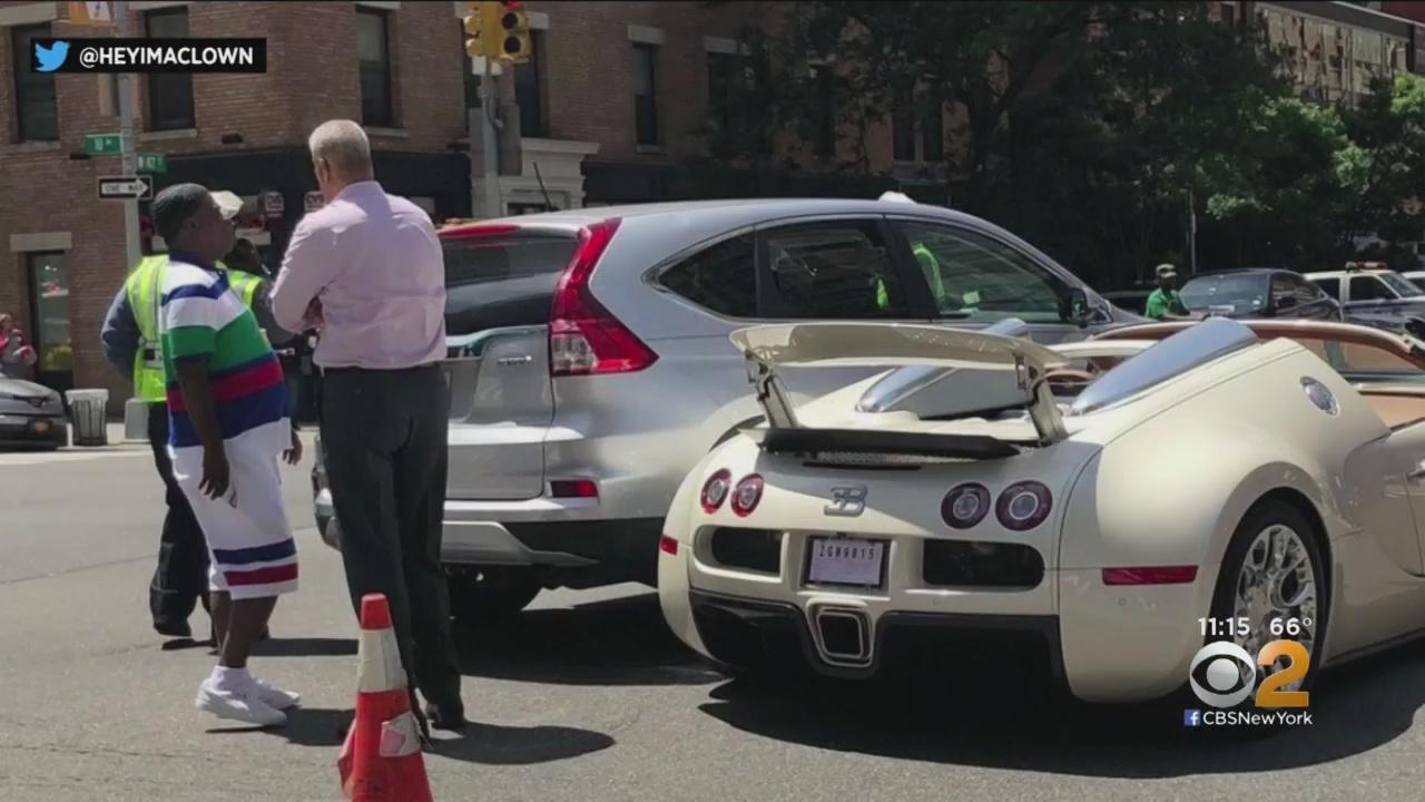 Трейси Морган только купил родстер Bugatti Veyron Gran Sport и сразу разбил его