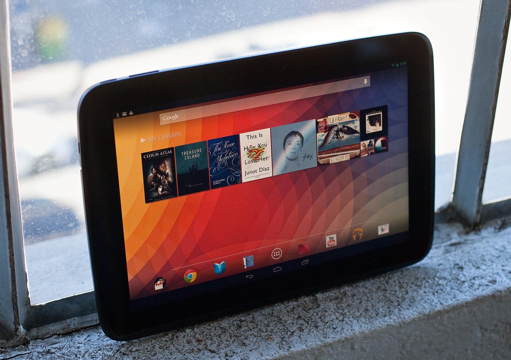 Nexus 10 до сих пор в спросе