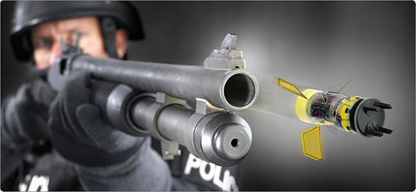 Тазер может выстреливаться из винтовки