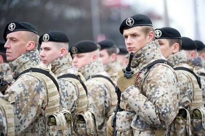 Латвия располагает большим запасом резервных войск
