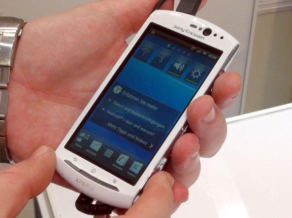 Sony Ericsson Xperia Neo V (White)
