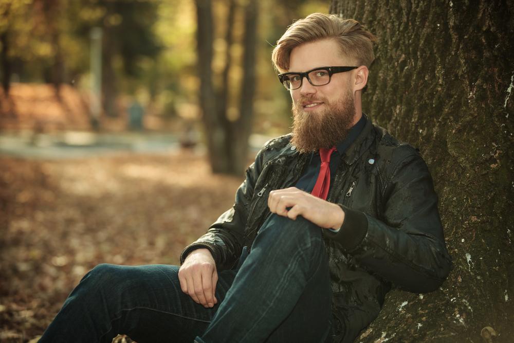 Утепляйся не только стильной мужской курткой, но и бородой