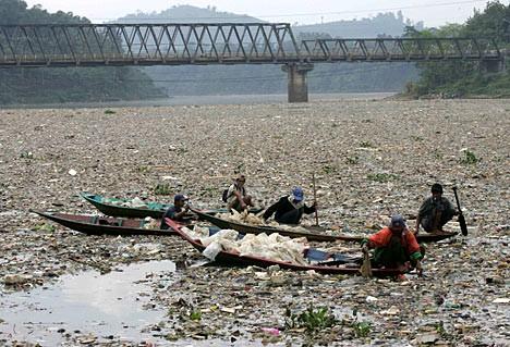 Читарум считается одной из самых грязных рек в мире