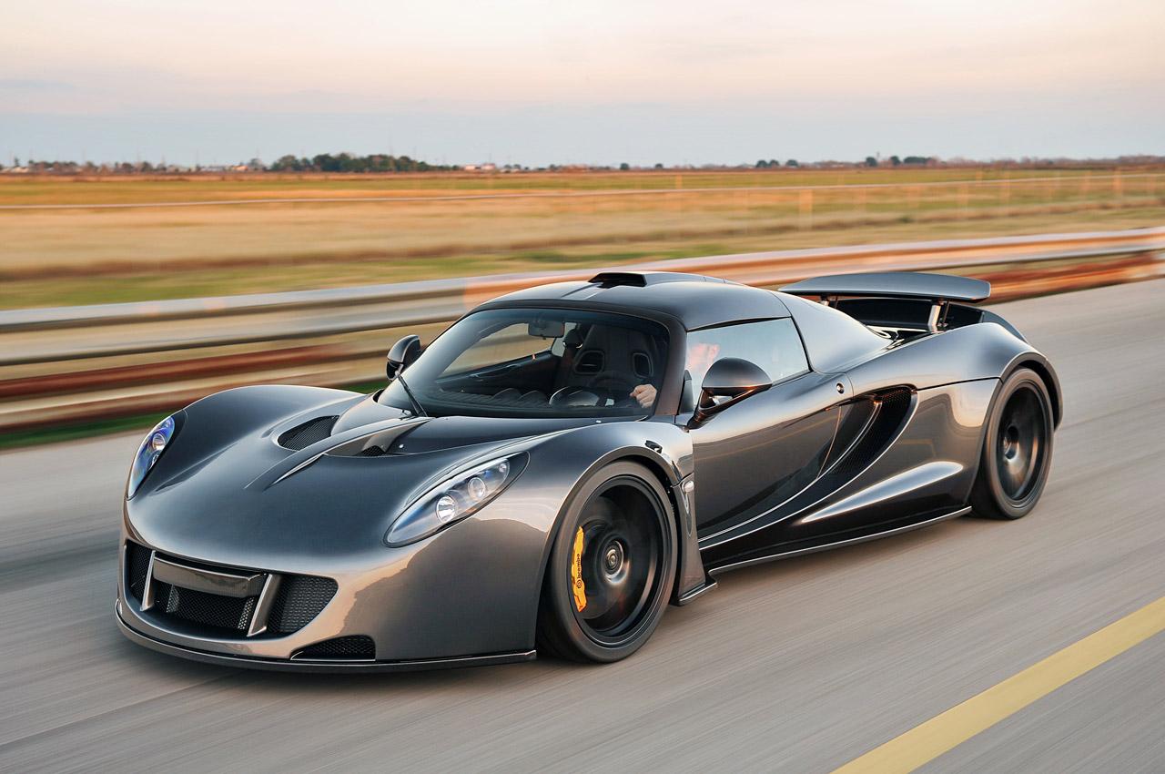 Hennessey Venom GT 2014 имеет кузов Lotus Exige и двигатель Chevrolet Corvette Z06