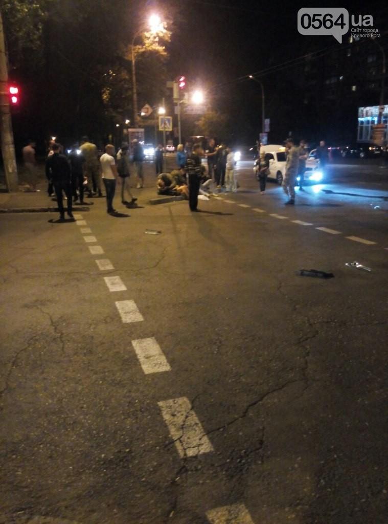 Ночная авария в Кривом Роге