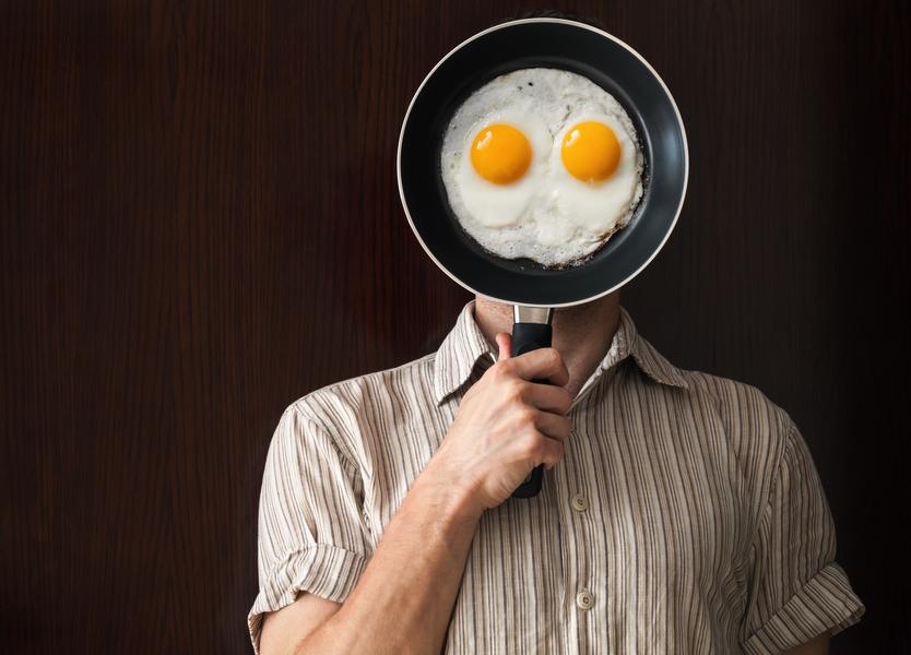 В составе завтрака должно быть много белков