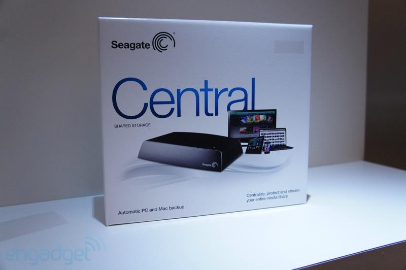 Seagate Cental - упаковка