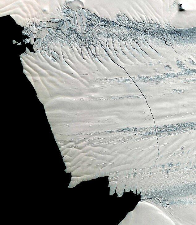 Трещина в леднике