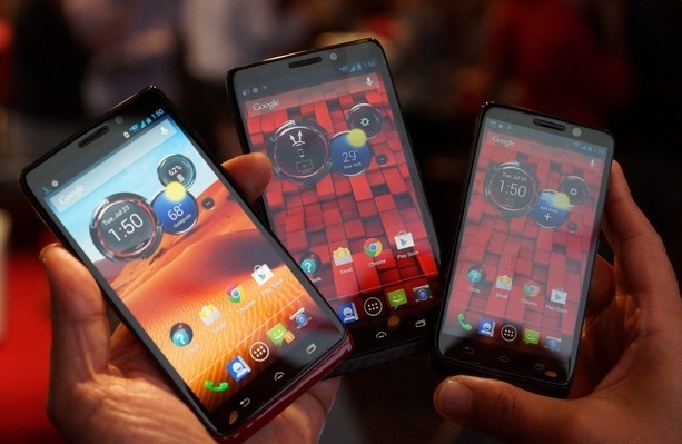 Новинки от Motorola: Droid Mini, Droid Ultra и Droid Maxx