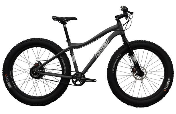 Велосипед-снеговик ZERO: 7 Tusken. С такими шинами можно поехать где угодно, но лучше всего – по снегу. А вот о рекордах скорости можно даже и не думать. Цена – $2950