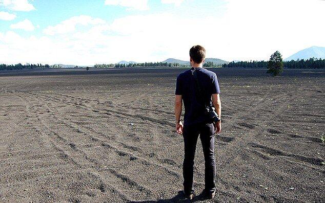 Так сейчас выглядит пустыня, где проходила высадка астронавтов