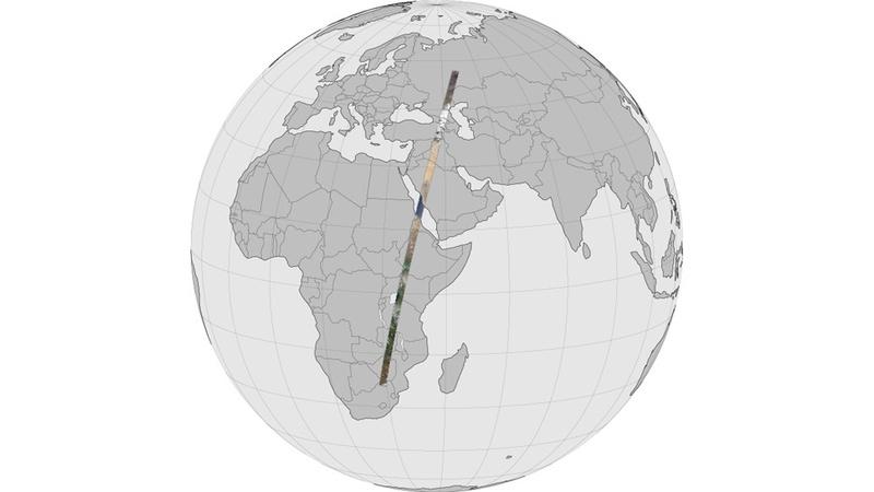 Карта панормного снимка