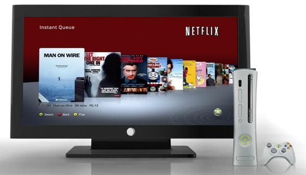 Просмотр кинофильмов в онлайновом сервисе Netflix на Xbox 360