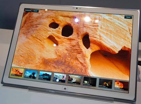 Panasonic покажет 20-дюймовый планшет