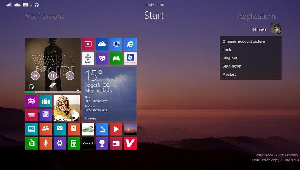 Новая Windows 8.2 будет дополнением к «восьмерке»