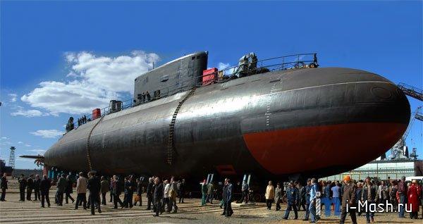 подводная лодка северодвинск 2012