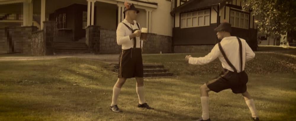 Древнее германское джиу-джитсу: секретное видео