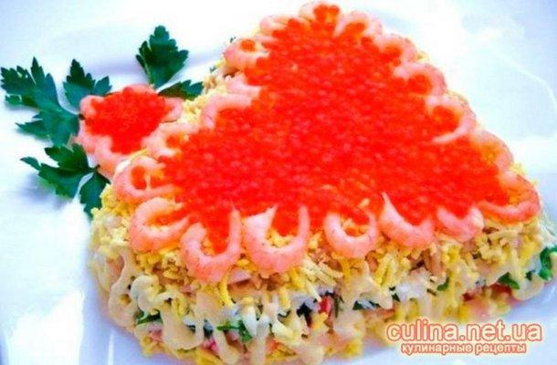 Рецепты простых салатов и закусок с фото