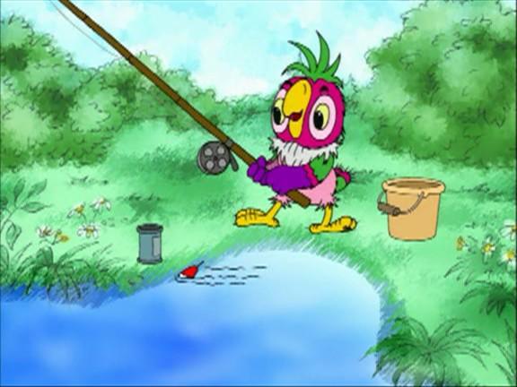 мультик рыбалка