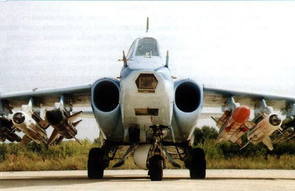 """...Су-39 представляет собой дальнейшее развитие специализированного  """"противотанкового """" варианта штурмовика Су-25Т..."""