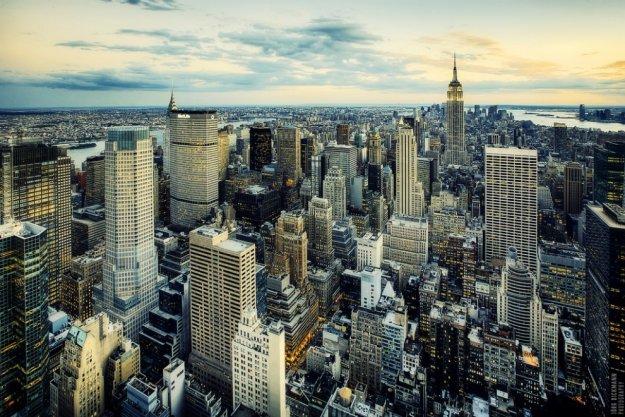 Города с высоты птичьего полета