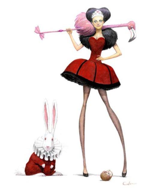 Алиса в зазеркалье картинки из фильма