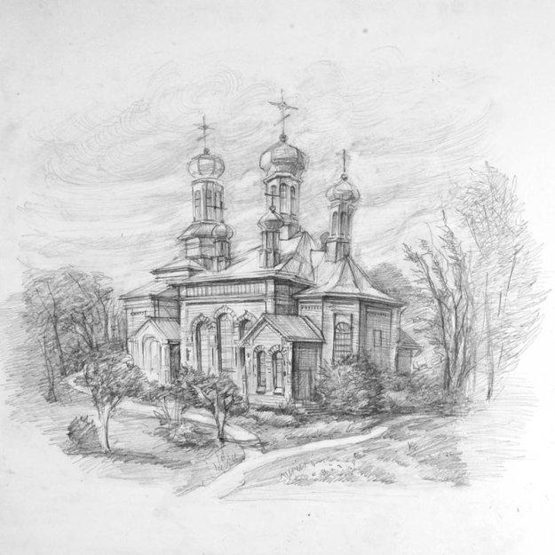 карандашом и тушью. Графика. Церковь ...: prikol.bigmir.net/view/157701