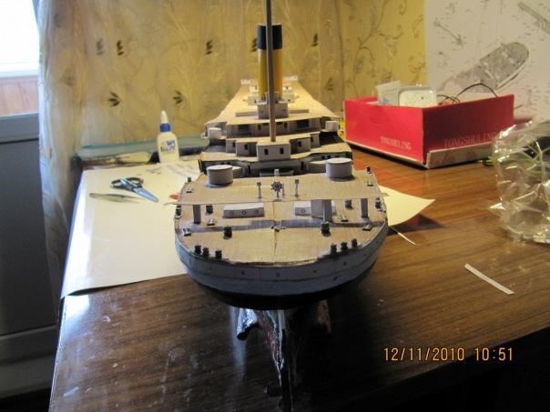 Корабль в домашних условиях