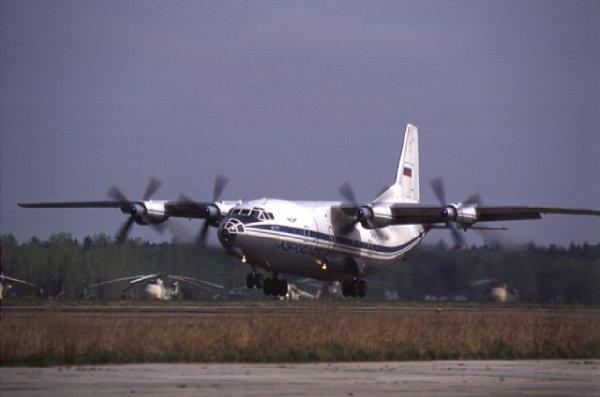 """Информация о том, что посадка самолета АН-12 сегодня, 3 февраля, в аэропорту  """"Борисполь """" была аварийной..."""