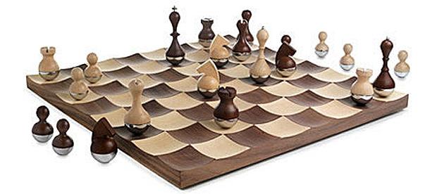 Необычные шахматные фигуры...