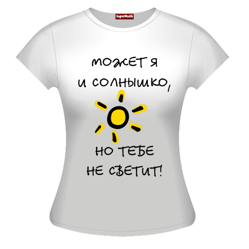 Рисунок на футболку на заказ 9