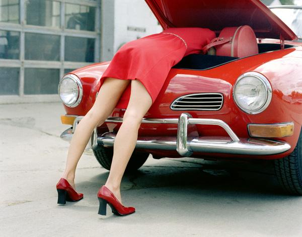 Картинки женщина за рулем - 0609