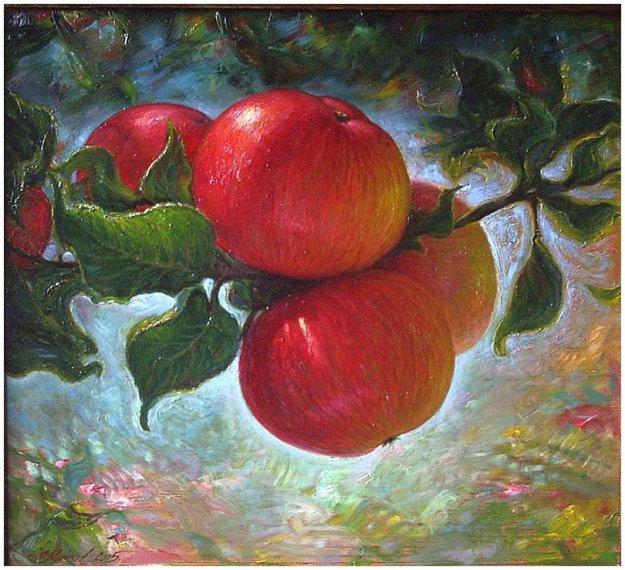Есть один аромат, который моментально возвращает меня в детство.  Запах недозревших яблок, иногда едва ощутимый...
