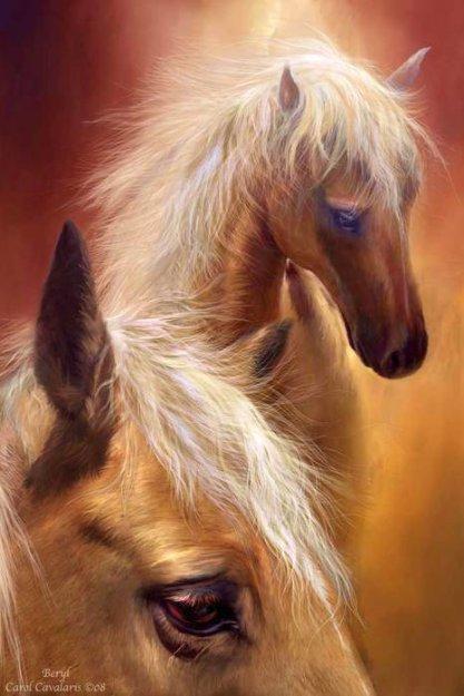 Лошади от Carol Cavalaris