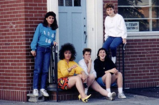 Девушки из 80-х (11 фотографий), photo:2. Фото 2, Девушки из 80-х (11...