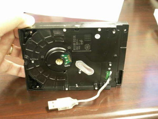 Как самому сделать портативный жесткий диск.
