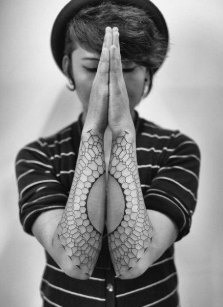 Нестандартные и интересные татуировки