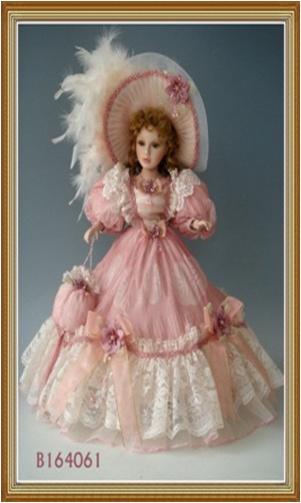 Кукла фарфоровая интерьерная