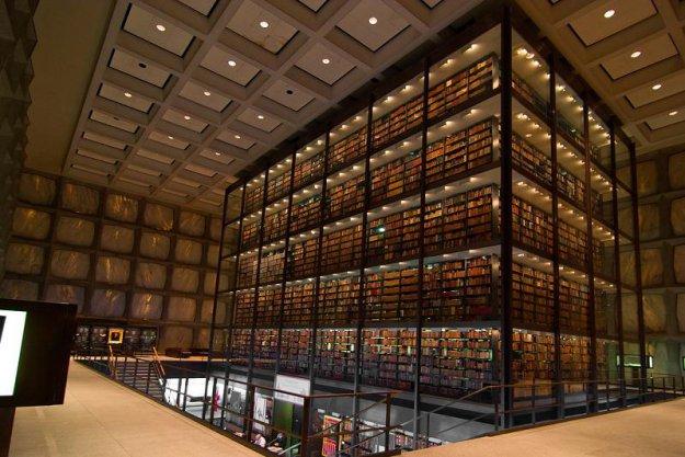 Библиотека древних манускриптов и юридической литературы Йельского Университета