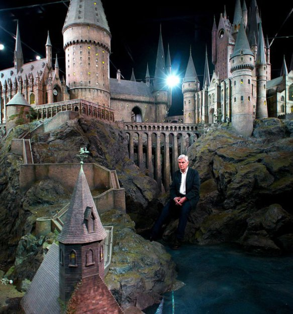 Замок Хогвартс из фильмов о Гарри Поттере