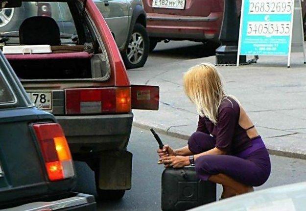 Картинки женщина за рулем - 8