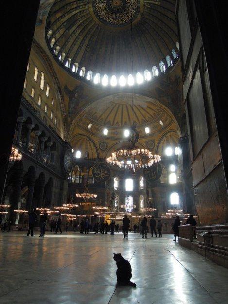 Хозяин собора Святой Софии