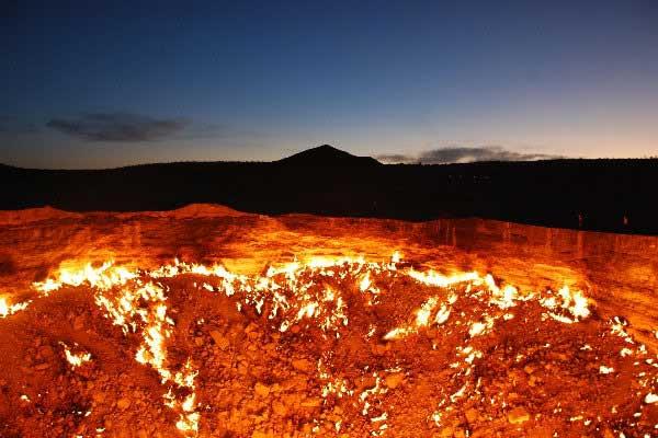 Горящая дыра в Туркменской пустыне  183784_402300