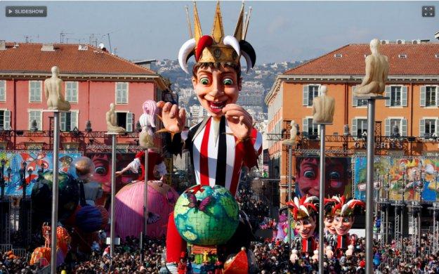 Ниццкий карнавал 2013