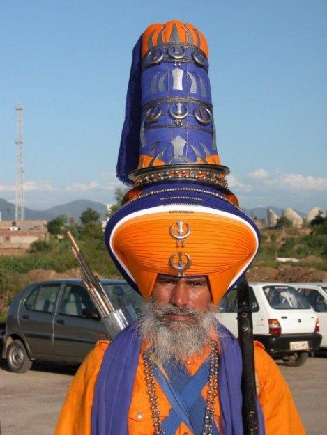 Головные уборы в Индии