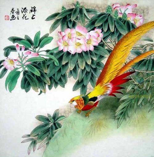 Лиу Жуинг. Золотой фазан.